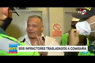 Surquillo: Policía intervino departamento donde festejaban matrimonio