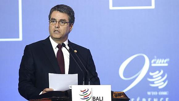 Roberto Azevedo, director de la OMC en Bali. (EFE)