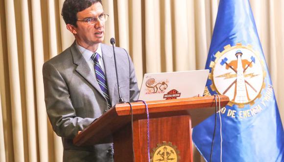 El viceministro de Minas, Miguel Inchaustegui. (Foto: Difusión)