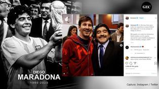Diego Maradona: Así reaccionaron las diversas personalidades del mundo tras la muerte del astro argentino