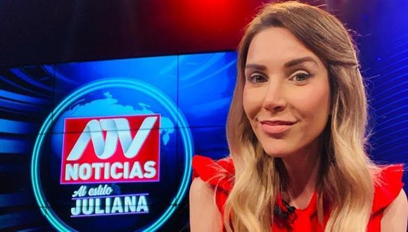 Juliana Oxenford se pronuncia sobre las marchas de los simpatizantes de Perú Libre y Fuerza Popular. (Foto: @julianaoxenford.oficial)