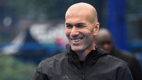 Zinedine Zidane comentó sobre las llegadas de los nuevos jugadores al Real Madrid. (Foto: AFP)
