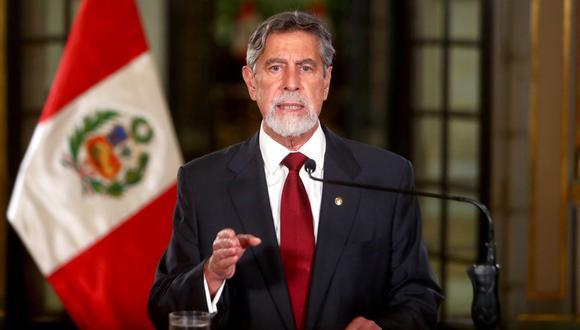 Francisco Sagasti investigará a fondo vacunación irregular de exfuncionarios. (Foto: Presidencia de la República).