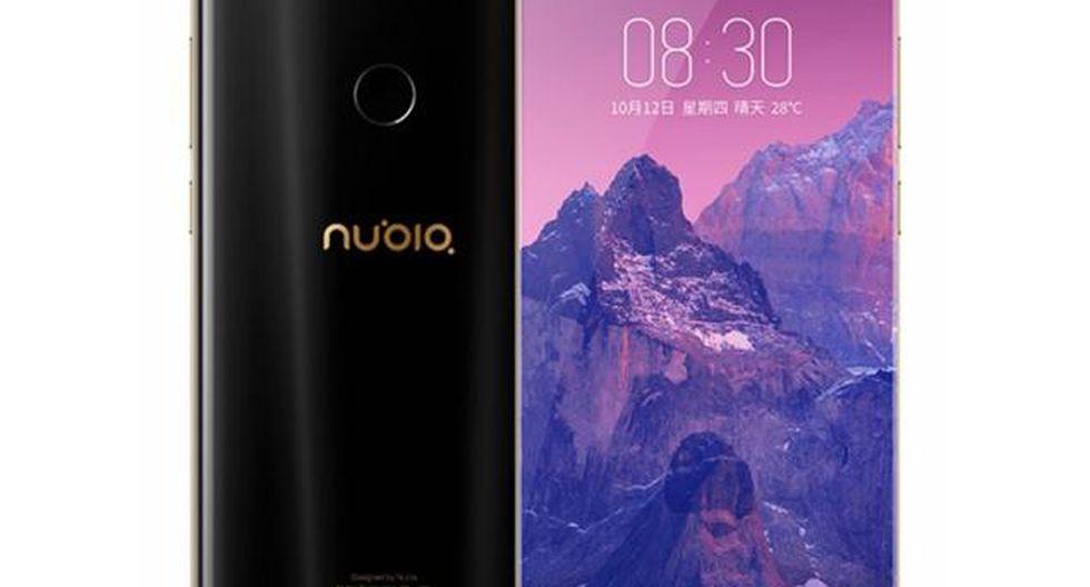 De marca china, el Nubia Z17S ocupa el cuarto lugar. (Foto: Nubia)