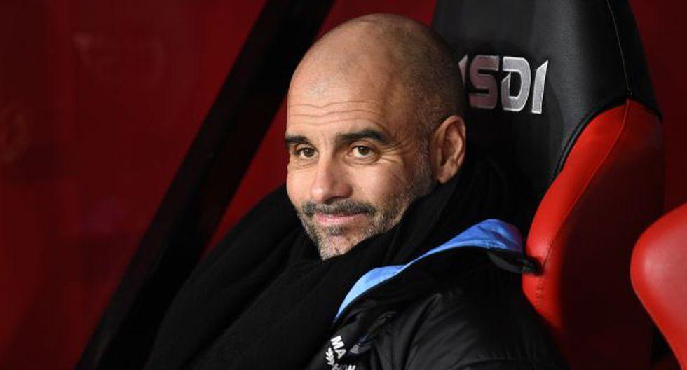 Pep Guardiola es entrenador de Manchester City desde mediados del 2016. (Foto: AFP)