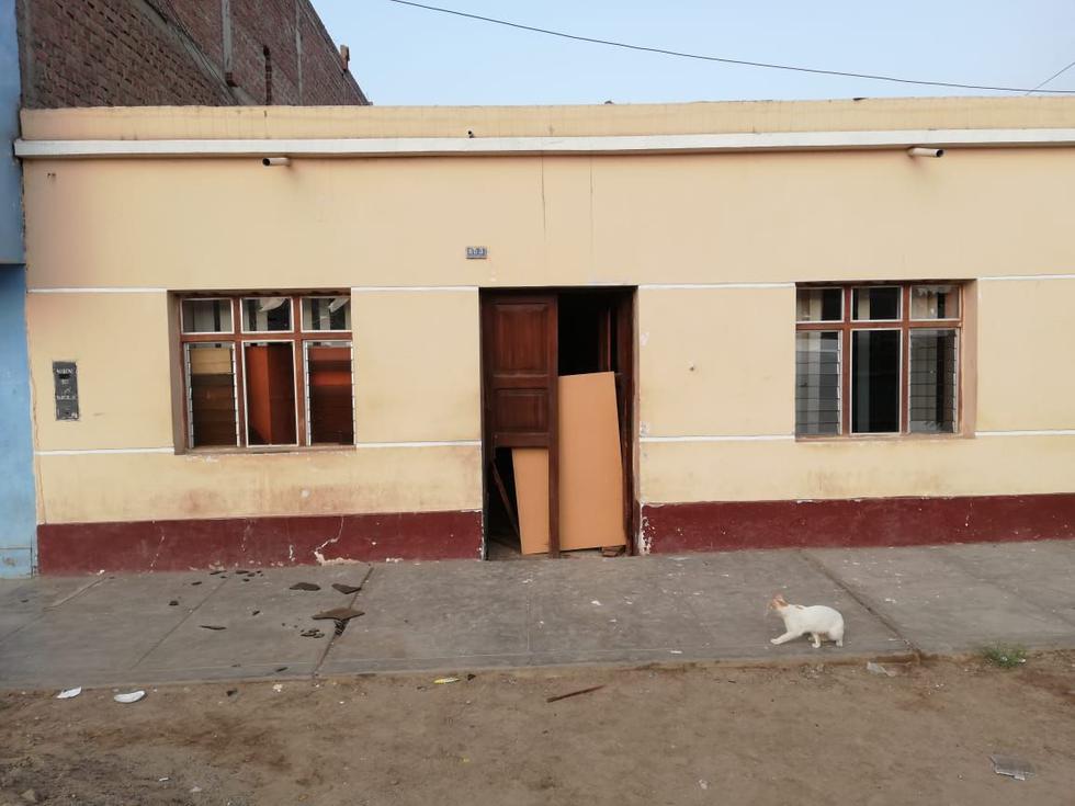 Extorsionadores hicieron estallar una cartucho de dinamita en la casa de un carpintero en La Esperanza. (Foto: Alan Benites/Perú21)