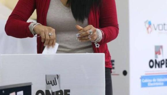 La ONPE fijó un horario diferenciado de votación para oficinas consulares en el extranjero. (Foto: ONPE)