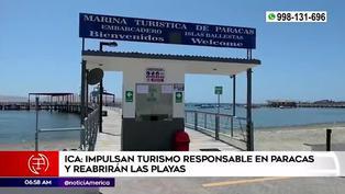 Paracas alista protocolos para recibir visitantes