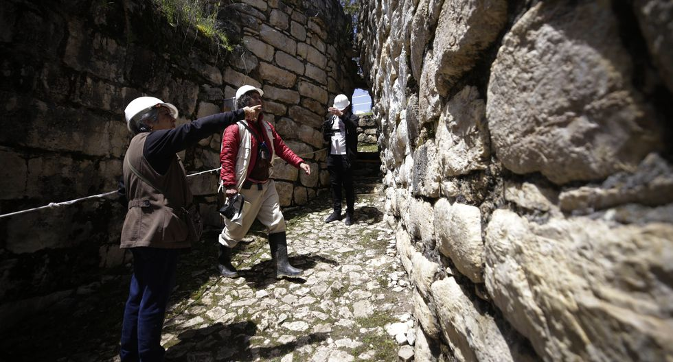 La ministra de Cultura manifestó el interés prioritario de su sector para poner en valor el complejo arqueológico de Kuélap. (Ministerio de Cultura)
