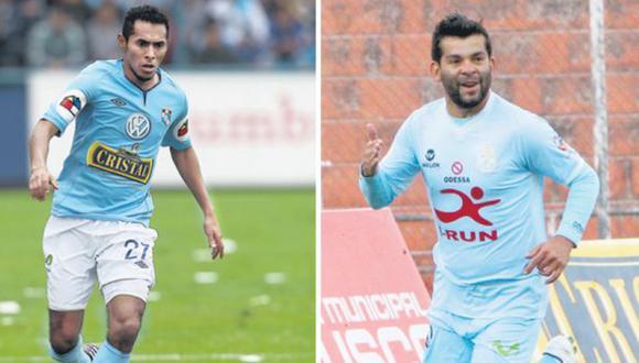 FIGURAS. Lobatón y Ramos quieren brillar en la Libertadores. (Difusión)