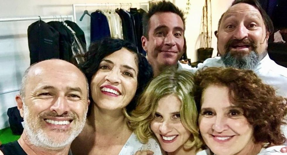 Hace un tiempo, el elenco anunció que celebrarán los 25 años de la serie. (Twitter/@cachinaalcantara)