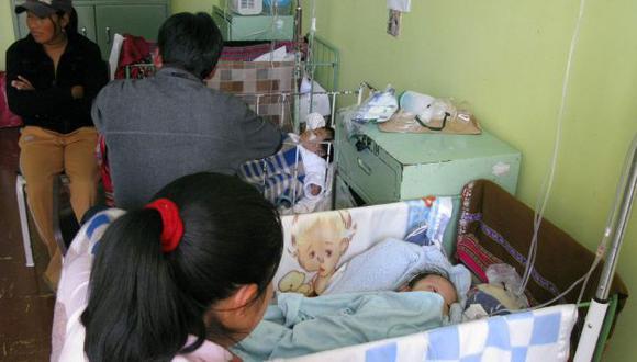 Unos 4,835 niños fueron hospitalizados por presentar deshidratación en el 2013. (Perú21)