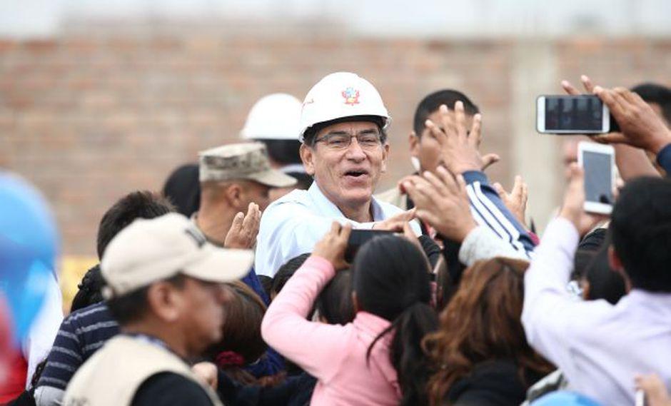 Martín Vizcarra evitó comentar si era necesario o no anular los peajes. (GEC)