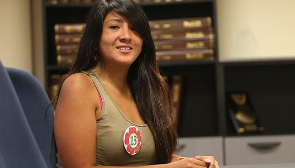 Rosario Grados, la candidata al Congreso por Frente Amplio que propone legalizar la marihuana. (Luis Centurión)