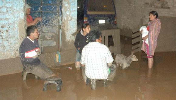 Desborde del río Huaycoloro causó destrozos en Chosica. (USI)