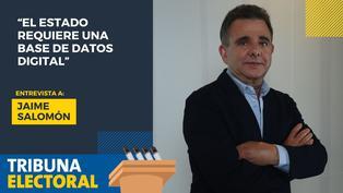 Jaime Salomón candidato al Congreso por Avanza País
