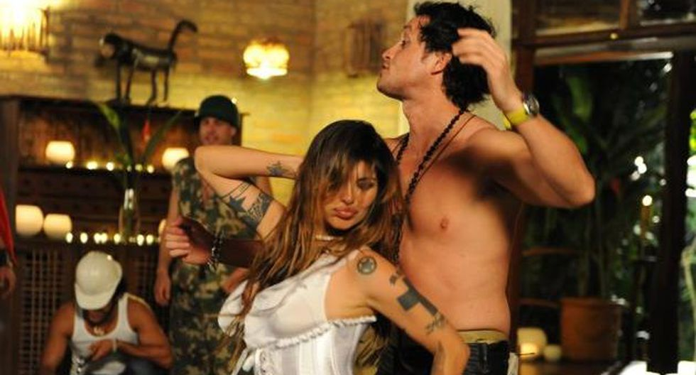 Angie Jibaja ofrece shows muy sensuales. (Internet)