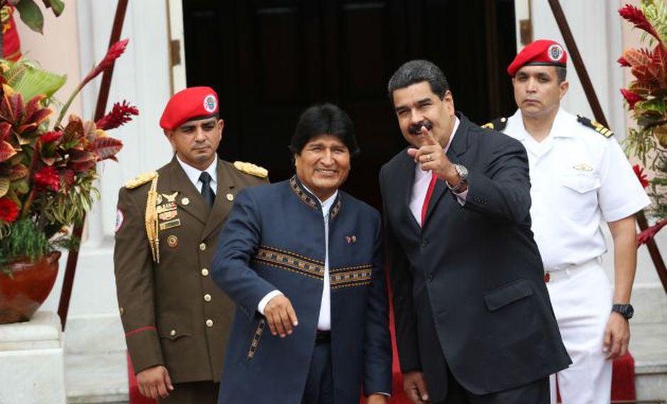 Evo Morales critica decisión del Perú de retirar la invitación a Nicolás Maduro (EFE)