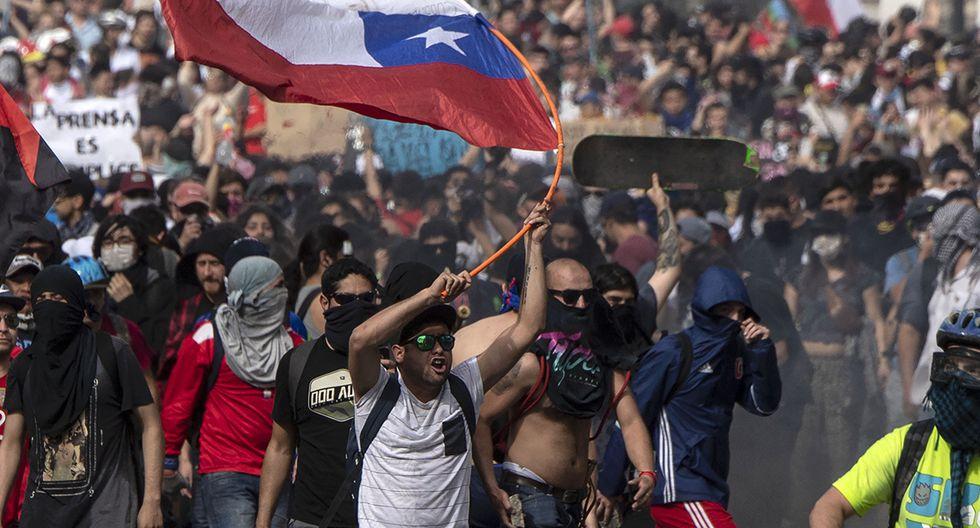 Se cumplen tres meses de las protestas sociales en Chile. (Foto: AFP)