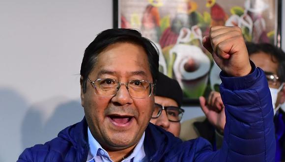 Luis Arce ha superado las expectativas de dos encuestas que ya lo daban por ganador. Incluso ha sacado más votos que Evo Morales en su primera elección. (Foto: AFP)