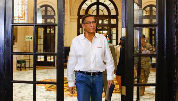 Vizcarra hizo un reconocimiento público a los profesionales y servidores del sector salud por su labor y esfuerzo ante el coronavirus. (Foto: GEC)