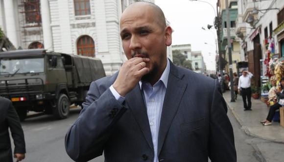 Ilan Heredia acudirá este lunes 19 a la Comisión de Fiscalización por caso agendas. (USI)