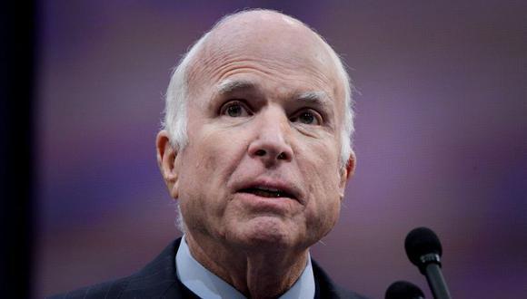 John McCain, de 81 años, murió el sábado en su rancho de Arizona después de luchar durante un año contra el cáncer cerebral. (Foto: Reuters)