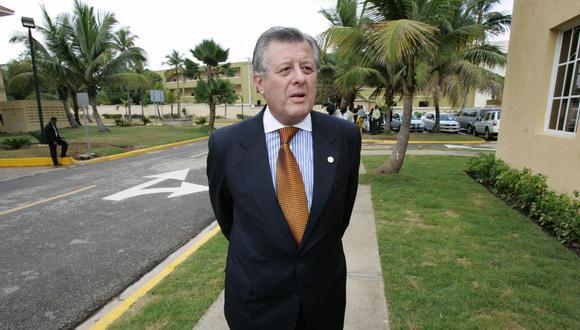"""Miguel Angel Rodriguez Mackay afirma: """"Maúrtua personifica al presidente en el exterior"""". (Foto: archivo GEC)"""
