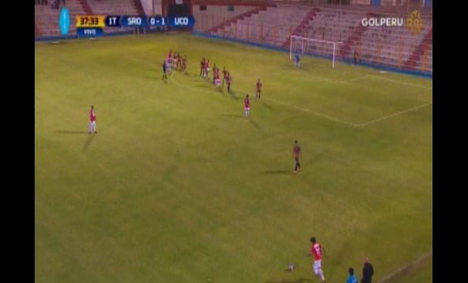 El golazo de Mimbela a Sport Rosario por el Torne Apertura 2018. (Captura: Gol Perú)