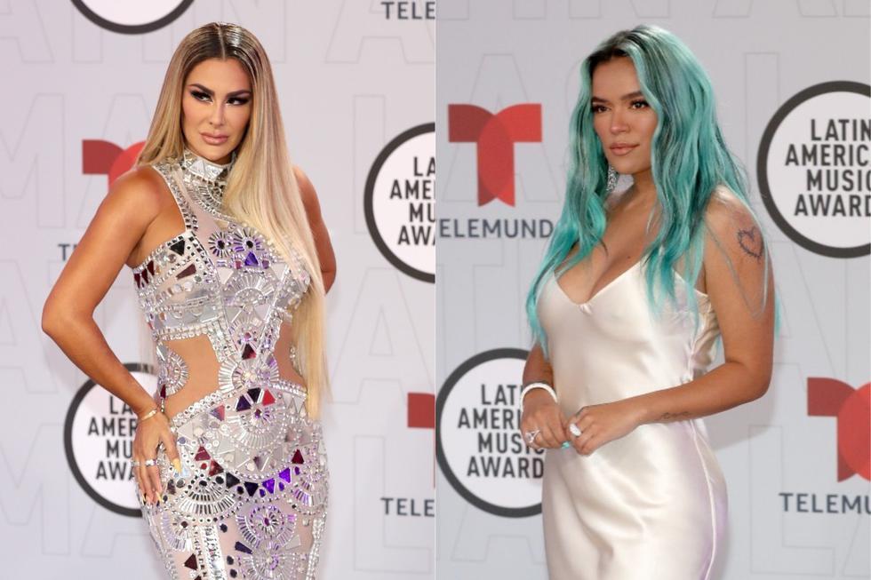 Latin American Music Awards 2021: los vestidos de las famosas en la alfombra roja USA EEUU Estados Unidos nndc | ESPECTACULOS | PERU21