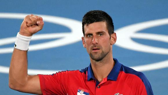 Novak Djokovic es el actual número uno del ranking ATP. (Foto: AFP)