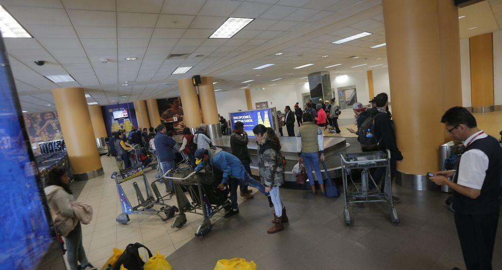 Los aeropuertos de las regiones Lima, Cusco, Arequipa, Iquitos, Piura presentaron mayores demandas. (Foto: USI)