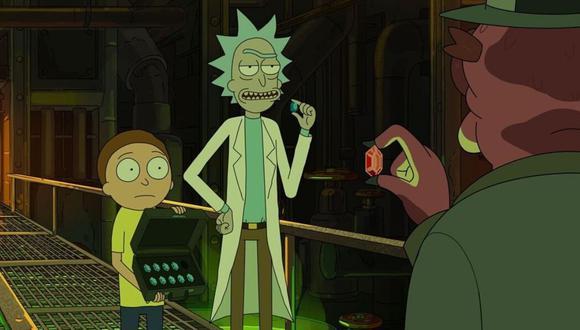 """El productor y escritor James Siciliano señaló que tienen casi lista la quinta temporada de """"Rick and Morty"""". (@rickandmorty)."""