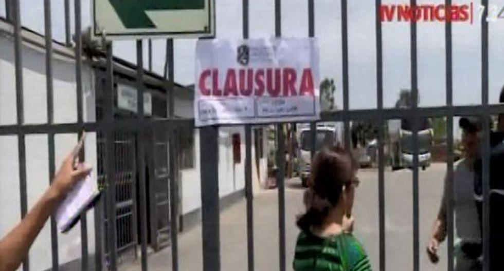 Este martes se realizó la clausura. (Foto: Captura/TV Perú)