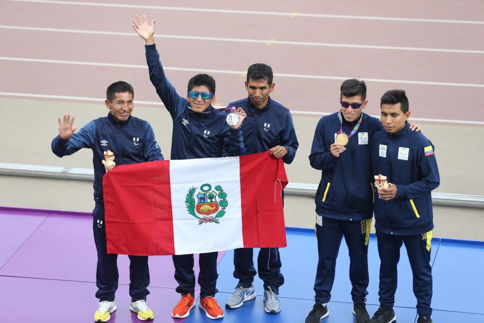 Por su parte, nuestro país se encuentra por el momento en el décimo segundo puesto con su primera medalla en la competencia. Se trata de la medalla de plata en los 5000 metros de paraatletismo, obtenida por Luis Sandoval. (Violeta Ayasta)