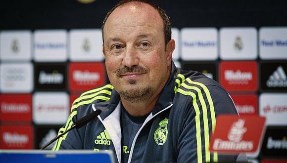 Rafa Benítez afirmó que fue un honor ocupar cargo de entrenador del Real Madrid. (EFE)
