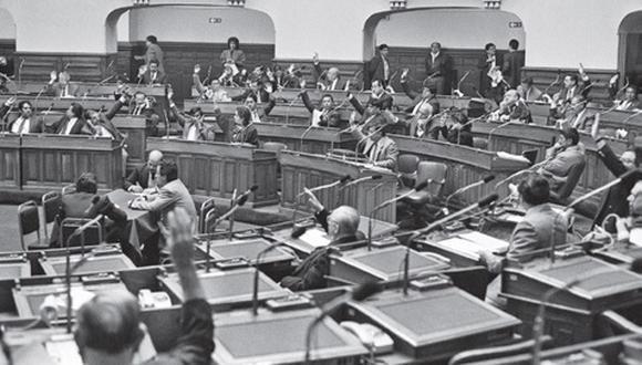 Congreso Constituyente Democrático que redactó la vigente Constitución Política de 1993. (ANDINA)