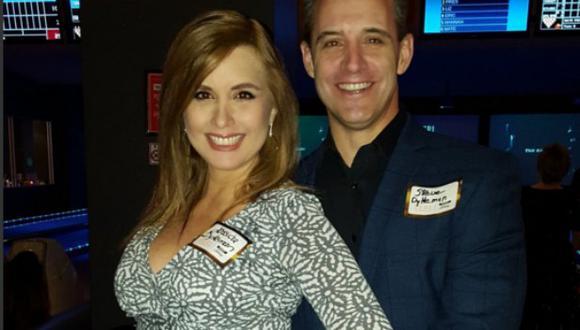 Jessica Tapia también agradeció el apoyo que ha tenido de parte de su esposo Steven Dykeman.