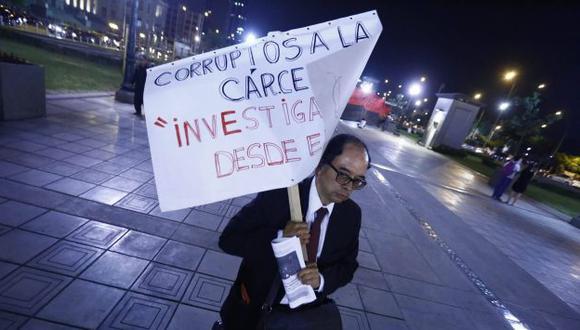 Marcha contra la corrupción: Así se desarrolló la manifestación. (Luis Centurión)