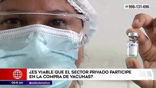 ¿Es conveniente que el sector privado compre vacunas contra la COVID-19?