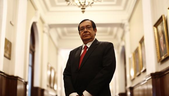 Víctor Prado fue elegido presidente de la Corte Suprema en julio de este año.