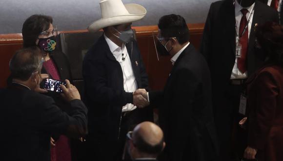 """El dueño de Perú Libre expresó que tomarán medidas """"si el gobierno se desvía"""" (GEC)."""