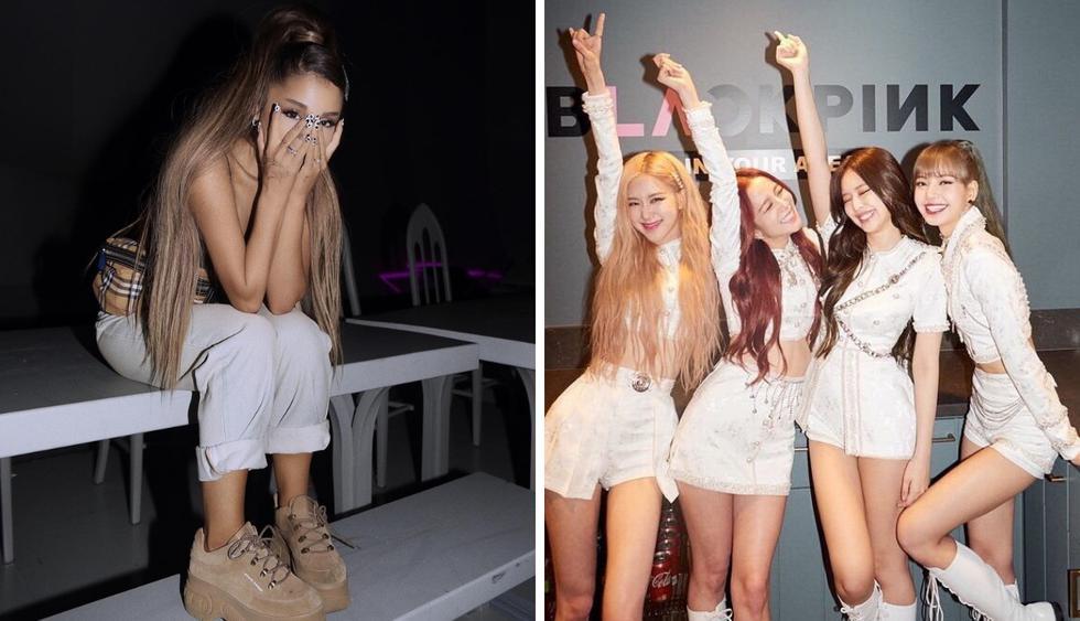 Ariana Grande comparte fotografía con BLACKPINK y emociona a fans (Foto: Instagram)