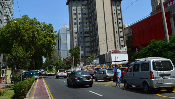 La Municipalidad de Miraflores indicó que todos los trabajos se ejecutarán en horas de la noche para no perjudicar el tránsito vehicular. (Difusión)