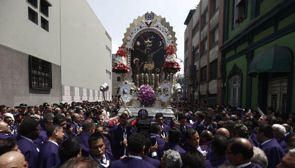 ¡Toma tus precauciones! Estos son los desvíos por la procesión del Señor de los Milagros (Perú21/Renzo Salazar)