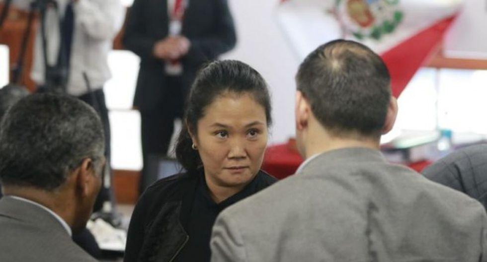 Keiko Fujimori está cumpliendo 36 meses de prisión preventiva a la espera de una casación en la Corte Suprema. (Foto: GEC)