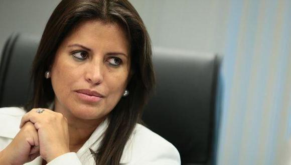 """Congresista Carmen Omonte: """"No creo que agravaría la situación sanitaria si el presidente Vizcarra deja el puesto""""(Foto: GEC)"""