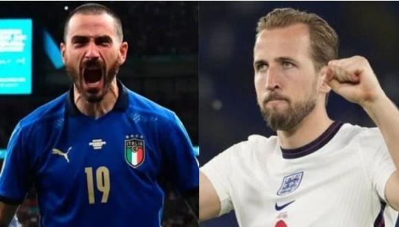 Italia vs. Inglaterra se enfrentan en la final de la Eurocopa. (Foto: EFE)