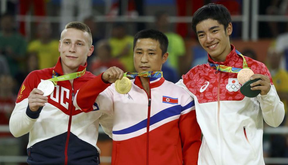 Se Gwang Ri consiguió el oro en salto masculino. (Reuters)