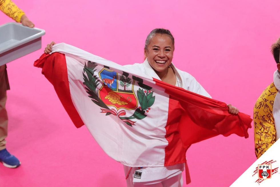 Esta determinación inquebrantable tuvo sus frutos al ser elegida como la ganadora con un puntaje de 24.86. (Federación Peruana de Karate)